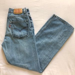 569's loose straight fit, vintage jeans